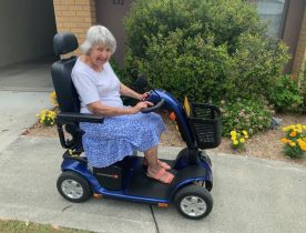 Wheel power for Aileen