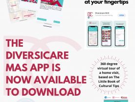 Launch of Diversicare MAS App